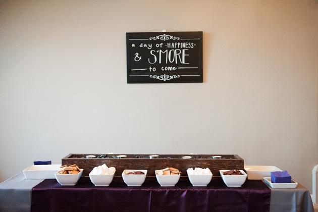 Elegant Purple Wedding At Black Swan Lake: Elegant Purple Wedding At The Salt Lake City Temple