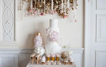 Beautiful Baroque Bridal Shoot; Modern Vintage Wedding Inspiration