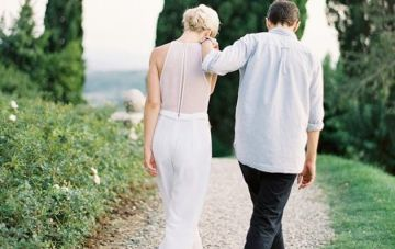 And The Bride Wore The Trousers… Wedding Day Jumpsuits, Rompers and Pants