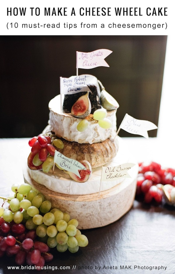 how do i make a cheese wedding cake 10 tips for a cheese wheel wedding cake bridal musings 15372