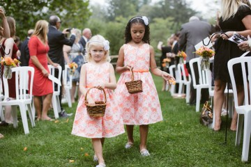 Orange and Yellow Garden Wedding   Brae Howard Photography   Bridal Musings Wedding Blog 31