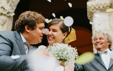 Effortless, Rustic and Oh-So-Chic; A Family Wedding in France