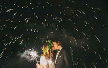 Wedding Sparklers & Fireworks: Top Tips & Photo Ideas