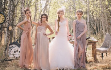 A Tea Party in the Woods, Mad Hatter Wedding Inspiration