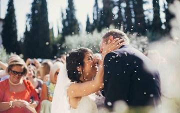 A Romantic Italian Wedding in the Tuscan Countryside