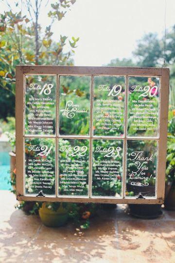 Unique Seating Chart Ideas | Bridal Musings Wedding Blog 8