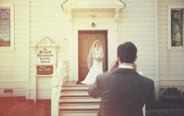 Sun Bleached Lace Wedding Inspiration Board