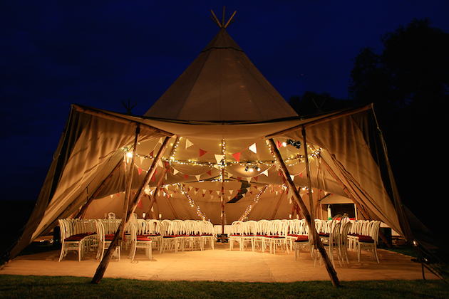 Real Tipi Weddings: The Ultimate Guide To Wedding Marquees