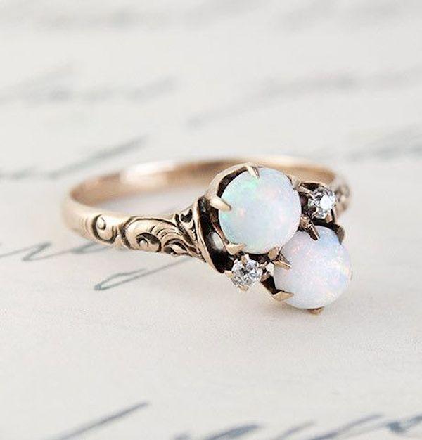 Diamond Alternatives For Engagement Rings | Gemstones for Engagement Rings | Bridal Musings Wedding Blog 11