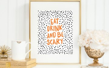 5 Etsy Finds For a Halloween Wedding