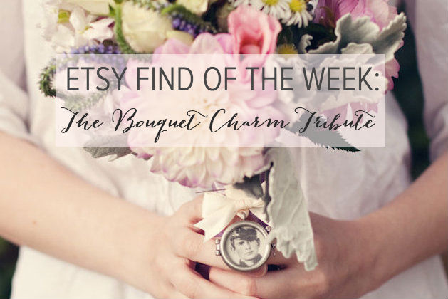 7613bc1236ab4 Etsy Find of the Week: The Bridal Bouquet Charm Tribute