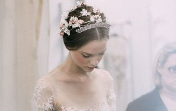 Bridal Fashion Week: Reem Acra Fall 2015 Wedding Dress Collection