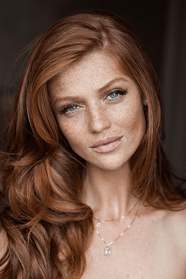 Bridal Beauty | Photos That Prove Women With Freckles Are Beautiful