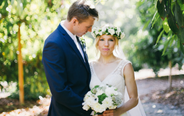Relaxed and Beautiful DIY Lemon Grove Wedding