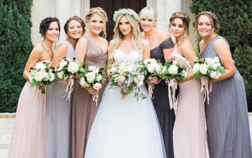 10 Of The Most Stylish Celebrity Weddings Of 2014