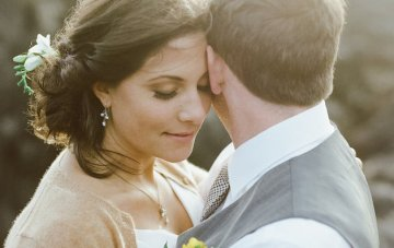 Beautifully Intimate Harvest Moon Wedding