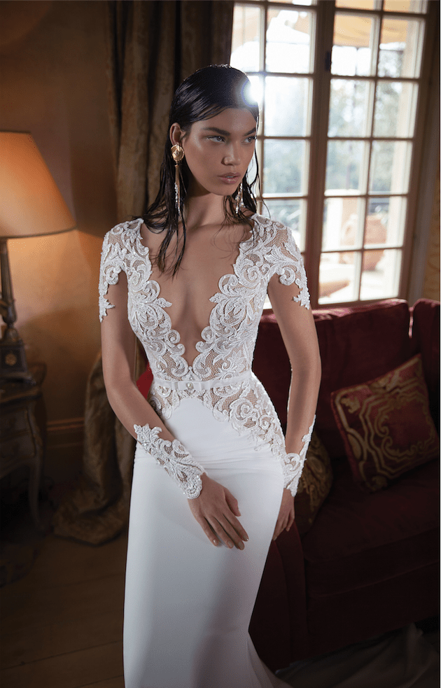 Berta Wedding Dress | Wedding Dresses With Sleeves | Bridal Musings Wedding Blog