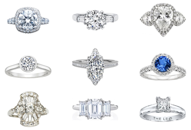 wedding ring types what is your engagement ring style bridal musings 1005