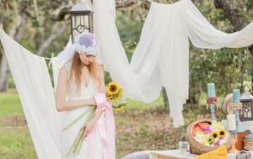 Eclectic Bohemian Boudoir and Bridal Inspiration
