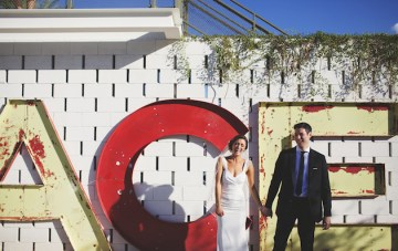 Very Cool Palm Springs Wedding at the Iconic Ace Hotel