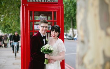 Cool Movie-Themed Wedding In London