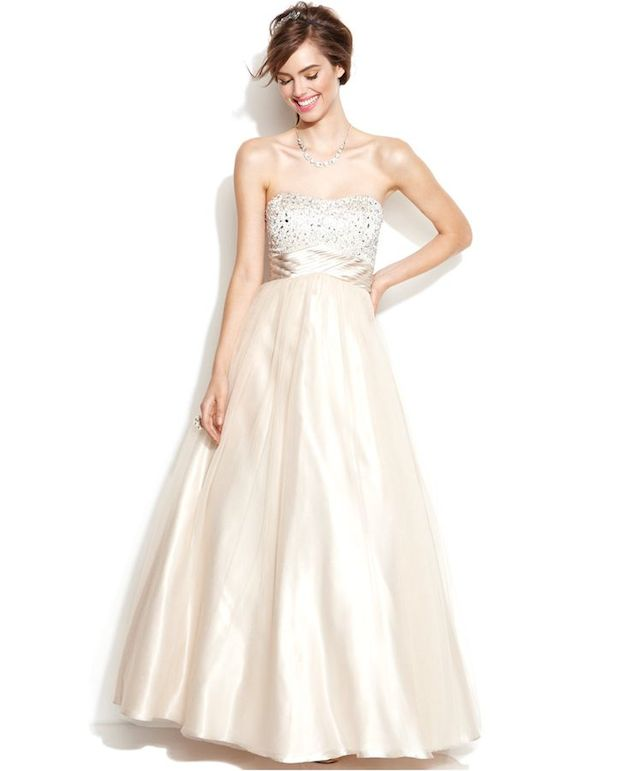 Macy's Wedding Dress For Less Than $1,000