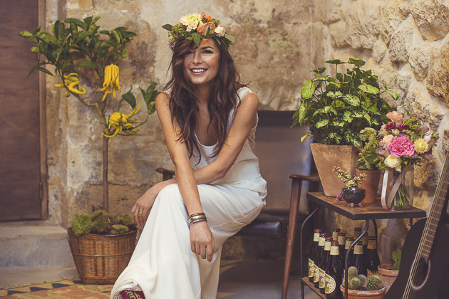 Parisian Chic Meets Southwest Boho Folk Wedding Inspiration