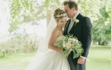 Classic Elegance, A Beautiful Flower-Filled English Wedding