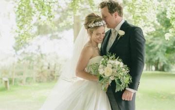 Classic Elegance, A Beautiful Flower-Filled English Wedding