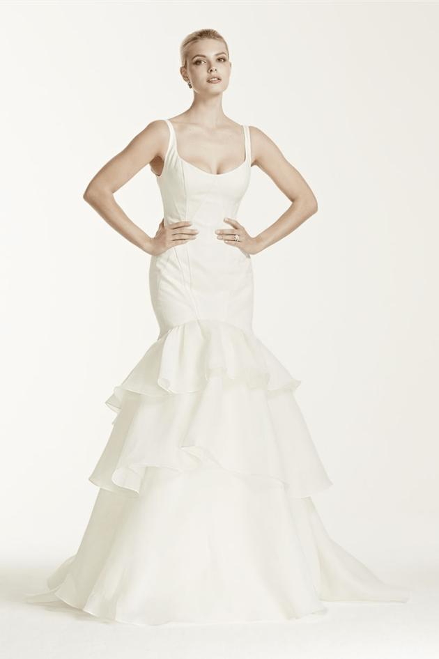 db93ebff6ff Zac Posen for David s Bridal Wedding Dress For Less Than  1