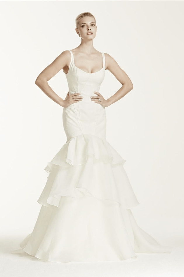 Zac Posen for David's Bridal Wedding Dress For Less Than $1,000