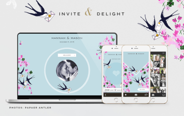 Appy Couple: Create Your Own Stylish Wedding Website and App (Plus Get 15% off!)