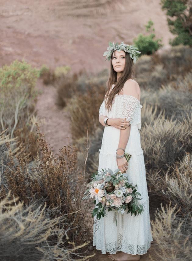 Wedding Photography Websites Inspiration: Cool Boho Wedding Inspiration Shoot
