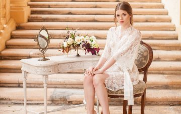 Win a Beautiful Bridal Robe by Girl With a Serious Dream