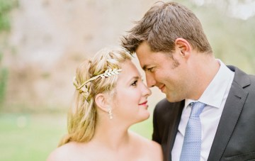 Intimate, Romantic, and Beautiful Italian Castle Wedding