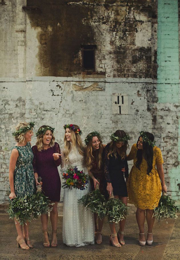 Mix and Match Bridesmaid Dress Ideas | Bridal Musings Wedding Blog 22