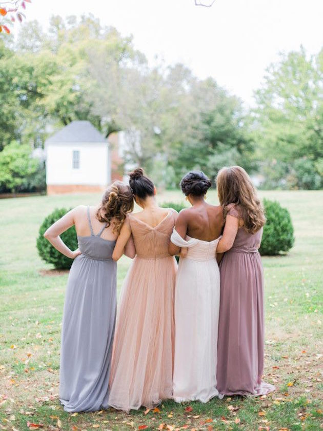 Mix and Match Bridesmaid Dress Ideas | Bridal Musings Wedding Blog 3