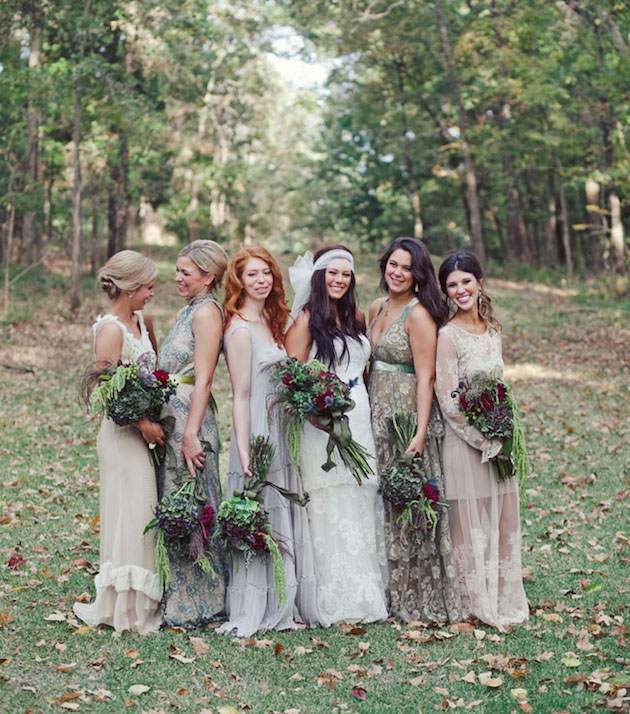 Mix and Match Bridesmaid Dress Ideas | Bridal Musings Wedding Blog 33