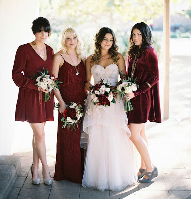 Mix and Match Bridesmaid Dress Ideas | Bridal Musings Wedding Blog 38