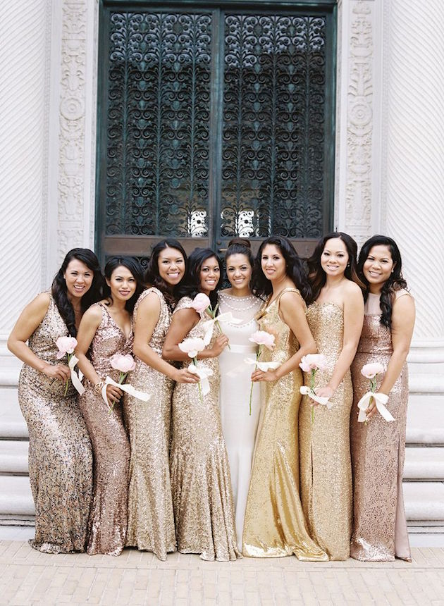 d224b76465b 35 Ideas for Mix and Match Bridesmaid Dresses