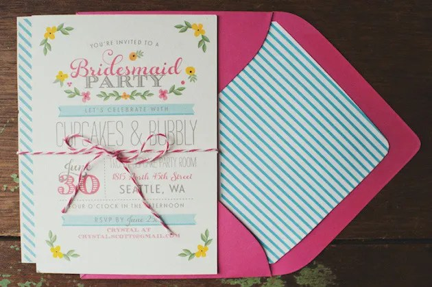 Personalize Your Bridal Shower