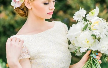 The Flower Bride: Kelsey Genna Wedding Dress 2015 Collection
