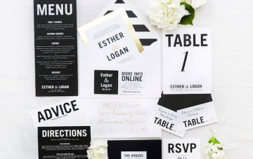 Our 10 Favourite Stationery Trends with Wedding Paper Divas