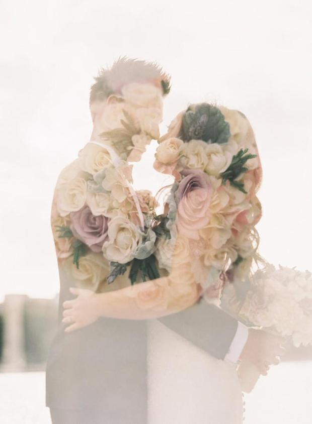 Caroline Tran Photography | Double Exposure | Bridal Musings Wedding Blog