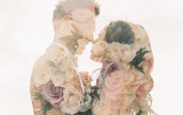 Trend Alert: Dreamy Double Exposure Wedding Photography