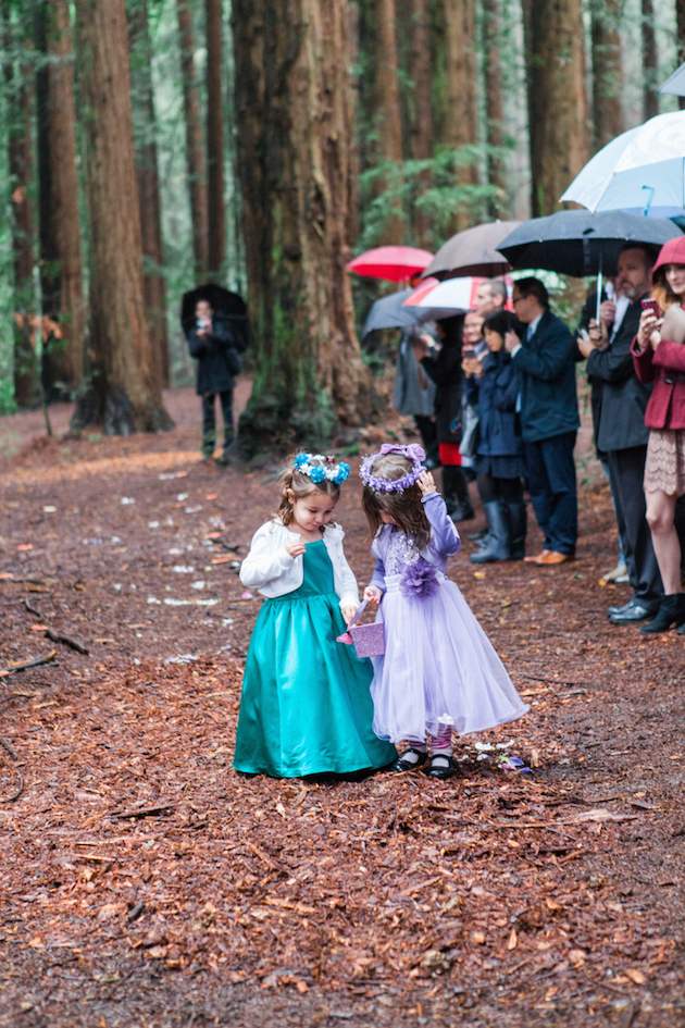 Colourful Redwoods Wedding in the Rain | Caitlin Turner Photography | Bridal Musings Wedding Blog 17
