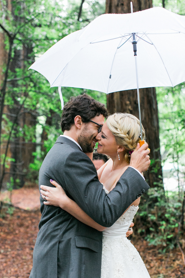 Colourful Redwoods Wedding in the Rain | Caitlin Turner Photography | Bridal Musings Wedding Blog 19