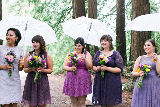 Colourful Redwoods Wedding in the Rain | Caitlin Turner Photography | Bridal Musings Wedding Blog 20