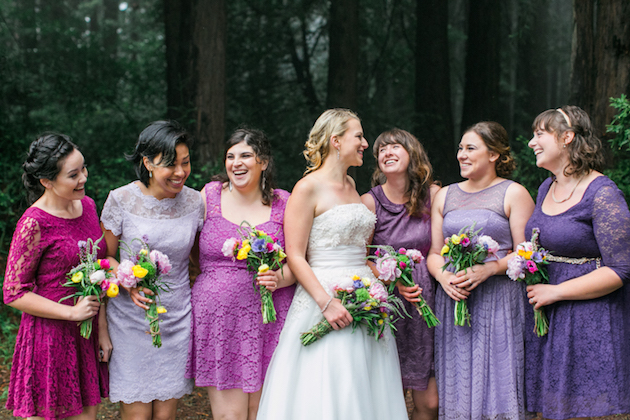 Colourful Redwoods Wedding in the Rain | Caitlin Turner Photography | Bridal Musings Wedding Blog 29