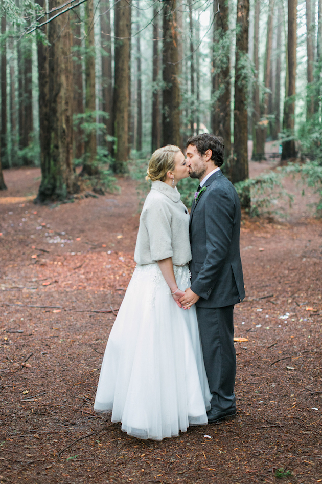 Colourful Redwoods Wedding in the Rain | Caitlin Turner Photography | Bridal Musings Wedding Blog 33
